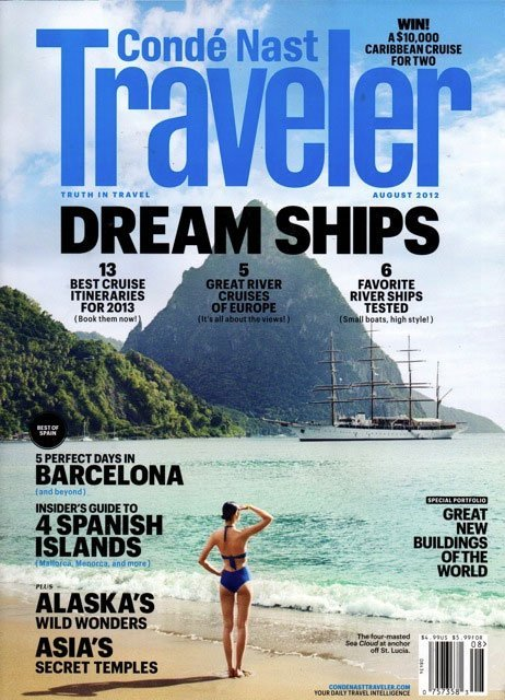 Condé Nast TravellerAugust, 2012