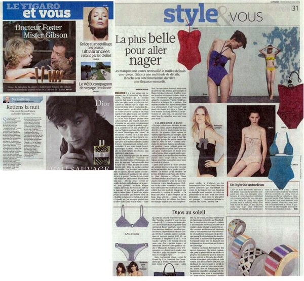 Journal Figaro April 25, 2011