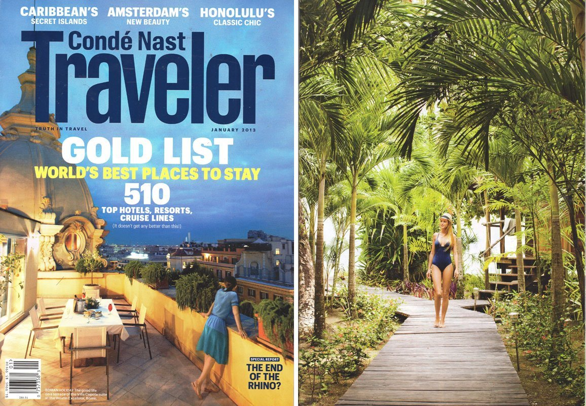 Condé Nast Traveller, December, 2012