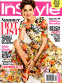 Instyle Cover, June 2014