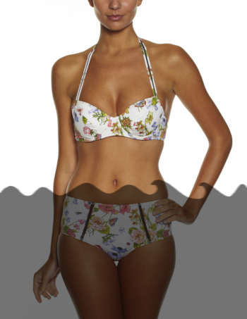 Product Shot: Will, Top, Flower print