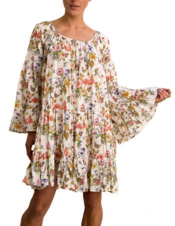 Product Shot: France Dress, Flower print